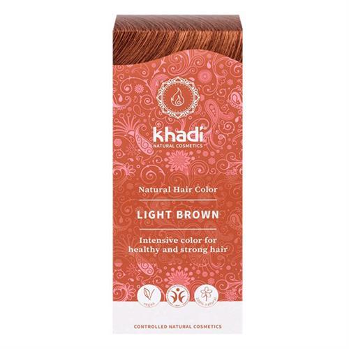 Tinte Natural Henna Color Castaño Claro Khadi 100g