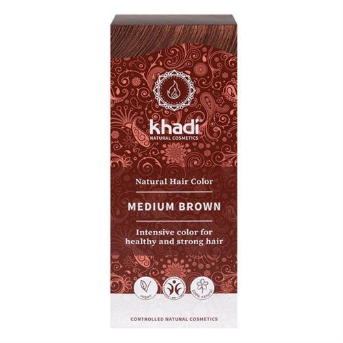 Tinte Natural Henna Color Castaño Medio Khadi 100g