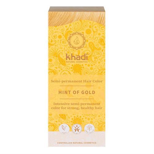 Tinte Natural Henna Color Rubio Toque Dorado Khadi 100g