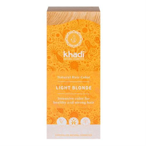 Tinte Natural Henna Color Rubio Claro Khadi 100g