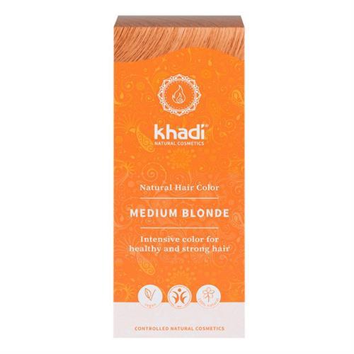 Tinte Natural Henna Color Rubio Medio Khadi 100g