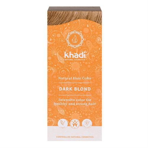 Tinte Natural Henna Color Rubio Oscuro Khadi 100g