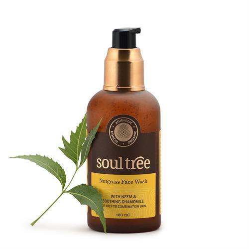 Gel Limpiador Facial Nutgrass Piel Mixta y Grasa Soul Tree 120ml