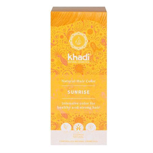 Tinte Natural Henna Color Miel Amanecer Khadi 100g