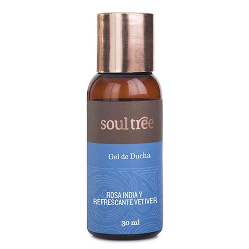 Gel de Baño de Rosa y Vetiver Soul Tree 30ml