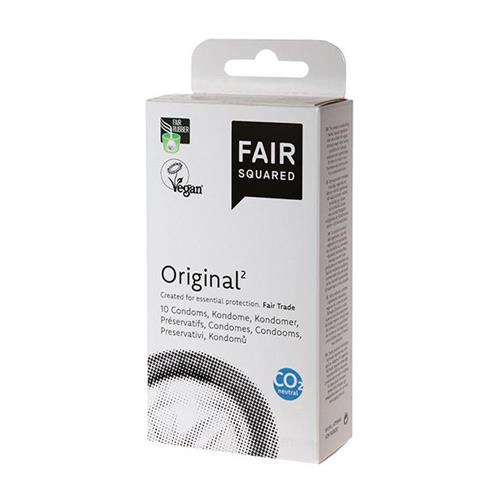 Preservativos Original Látex Natural FSC Fair Squared 10 ud