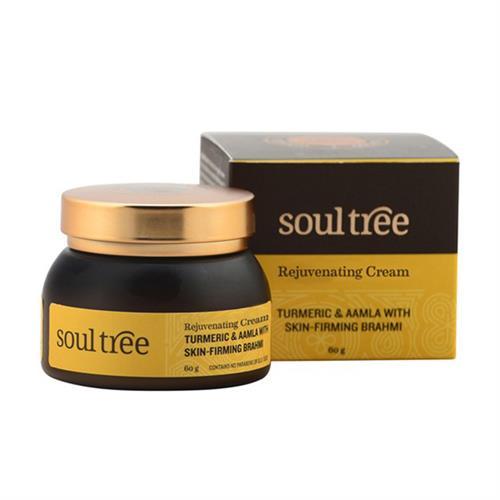 Crema Facial Regeneradora con Cúrcuma y Amla Soul Tree 60g