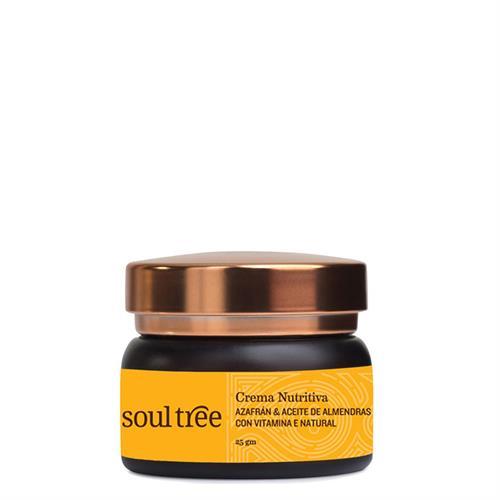 Crema Facial Nutritiva con Azafrán Soul Tree 25g