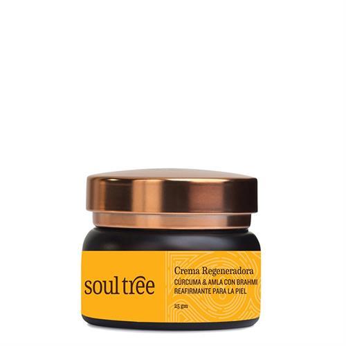 Crema Facial Regeneradora con Cúrcuma y Amla Soul Tree 25g