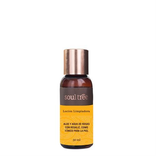 Loción Facial Limpiadora de Aloe y Rosas Soul Tree 30ml