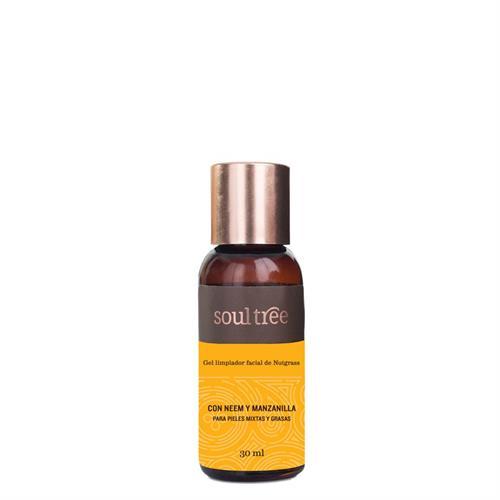 Gel Limpiador Facial Nutgrass Piel Mixta y Grasa Soul Tree 30ml