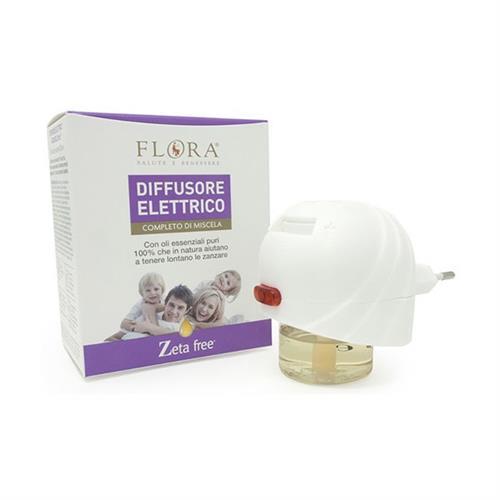 Difusor Eléctrico Antimosquitos con Recarga Flora 25ml