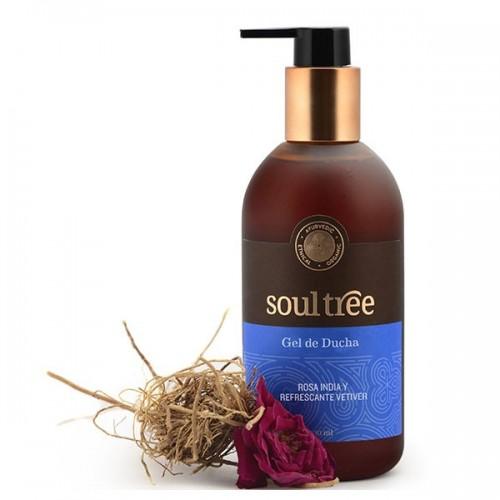 Gel de Baño Rosa y Vetivert Soul Tree 250ml