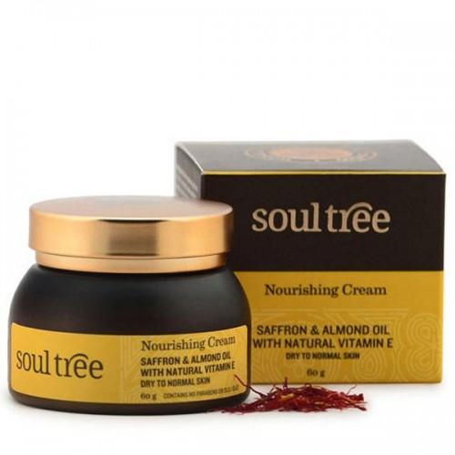 Crema Facial Ayurveda Nutritiva con Azafrán Soul Tree 60g