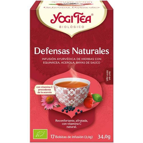 Infusión Defensas Naturales Yogi Tea Bio 17 Bolsitas 34g