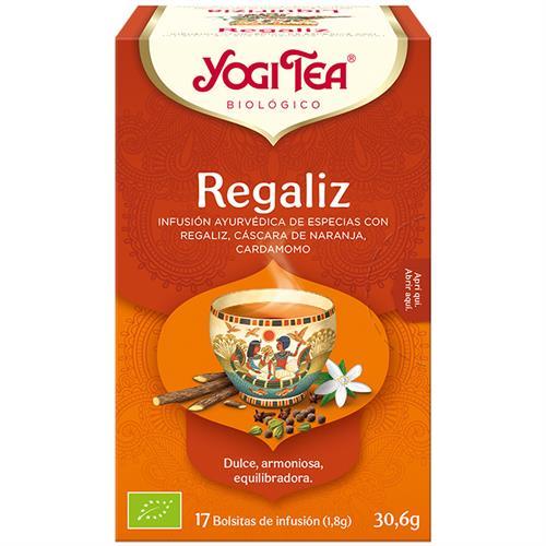 Infusión de Regaliz Yogi Tea Bio 17 Bolsitas 30,6g