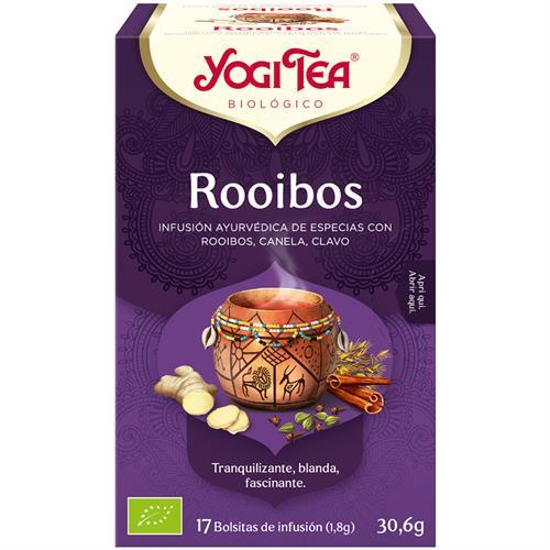 Infusión Rooibos Yogi Tea Bio 17 Bolsitas 30,6g