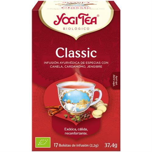 Infusión Classic Yogi Tea Bio 17 Bolsitas 37,4g