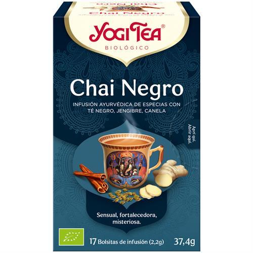 Infusión Chai Negro Yogi Tea Bio 17 Bolsitas 37,4g