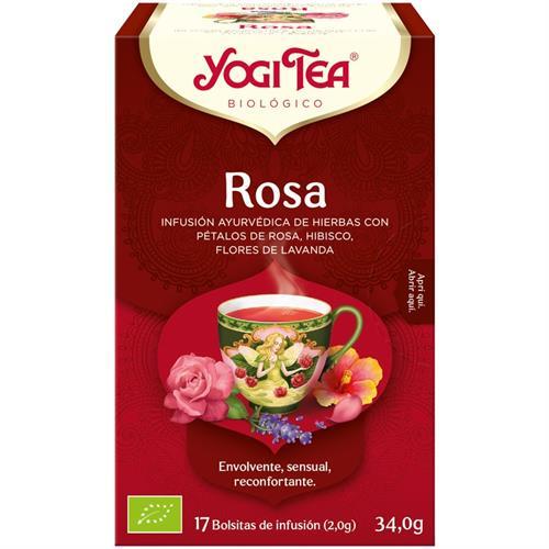 Infusión Rosa Yogi Tea Bio 17 Bolsitas 34g