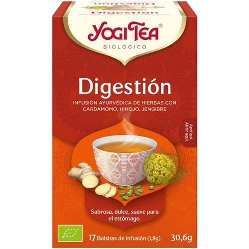 Infusión Digestión Yogi Tea Bio 17 Bolsitas 30,6g