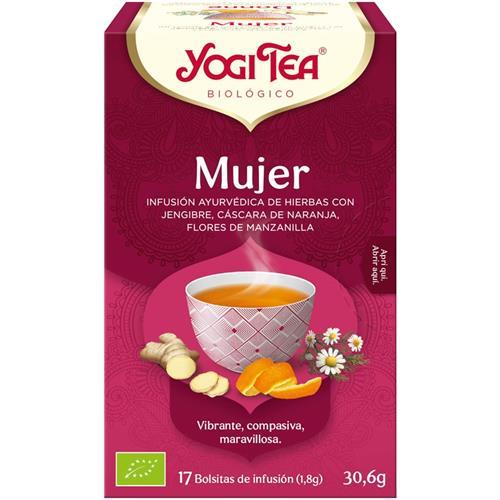 Infusión Mujer Yogi Tea Bio 17 Bolsitas 30,6g