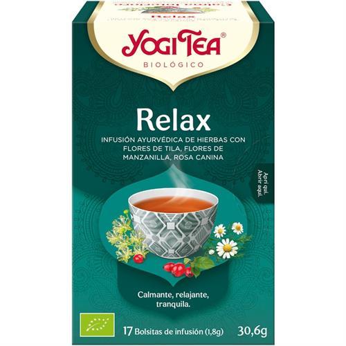 Infusión Relax Yogi Tea Bio 17 Bolsitas 30,6g