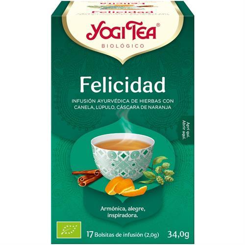 Infusión Felicidad Yogi Tea Bio 17 Bolsitas 34g
