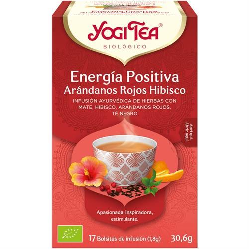Infusión Energía Positiva Yogi Tea Bio 17 Bolsitas 30,6g