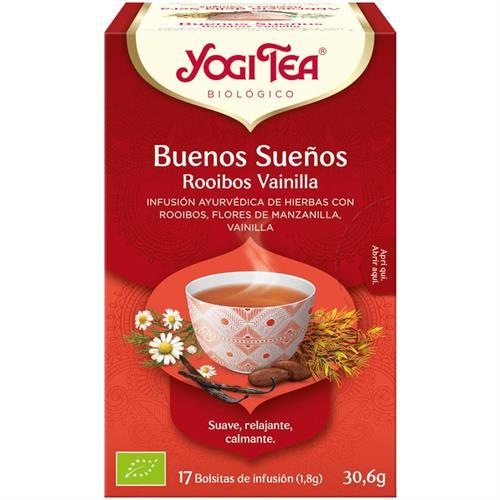 Infusión Buenos Sueños Yogi Tea Bio 17 Bolsitas 30,6g