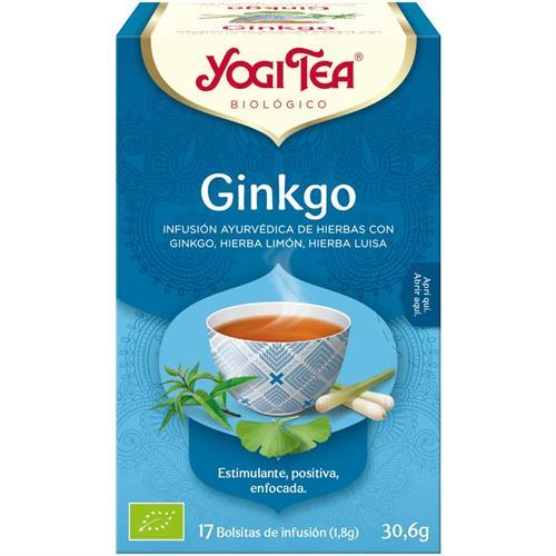 Infusión Ginkgo Yogi Tea Bio 17 Bolsitas 30,6g