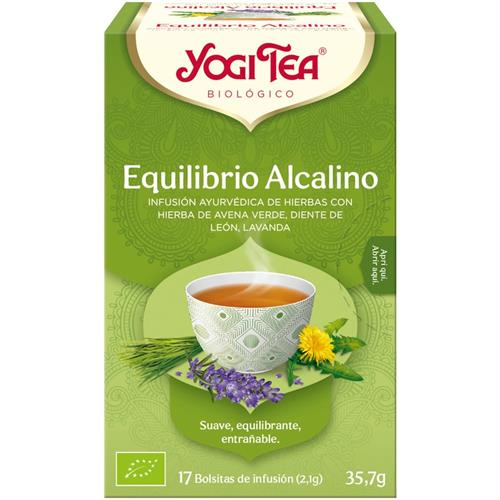 Infusión Equilibrio Alcalino Yogi Tea Bio 17 Bolsitas 35,7g