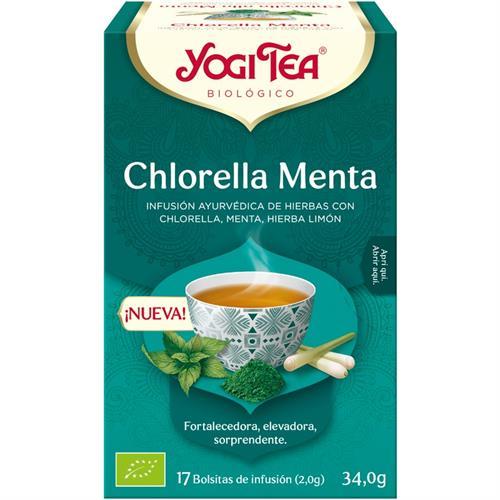Infusión Chlorella Menta Yogi Tea Bio 17 Bolsitas 34g