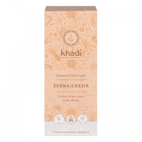 Tinte Natural Henna Cassia Neutra Natural Khadi 100g
