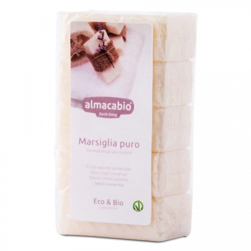 Jabón Pastilla Marsella Puro Bio 5x100g