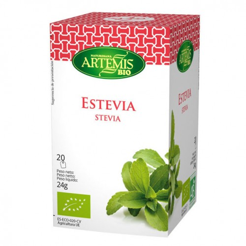 Infusión de Estevia Bio 20 filtros 24g