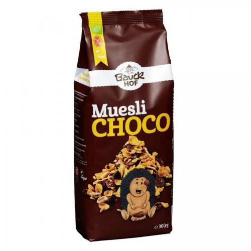 Muesli Crujiente Chocolate Negro Sin Gluten Bio 300g