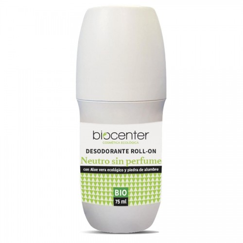 Desodorante Roll On Neutro Biocenter TOP Bio 75ml