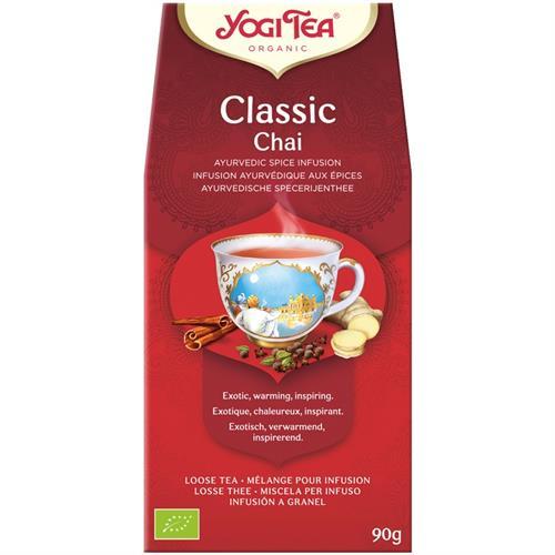 Infusión Classic Granel Yogi Tea Bio 90g