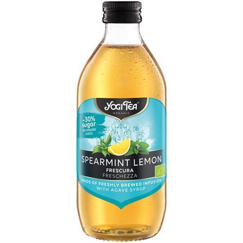 Infusión Fría Menta Piperita y Limón Frescura Yogi Tea Bio 33cl