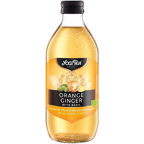 Infusión Fría Naranja y Jengibre Felicidad Yogi Tea Bio 33cl