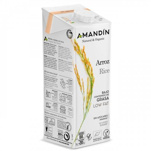 Bebida de Arroz 20% de Arroz Bio 1L