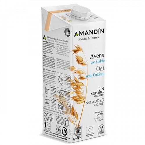 Bebida de Avena Calcio Amandin Bio 1L