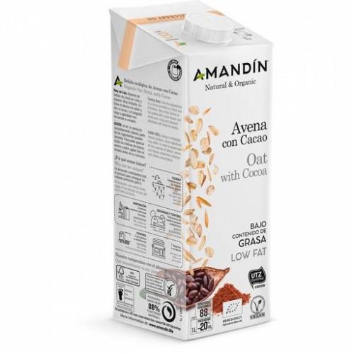 Bebida de Avena con Cacao Bio 1L