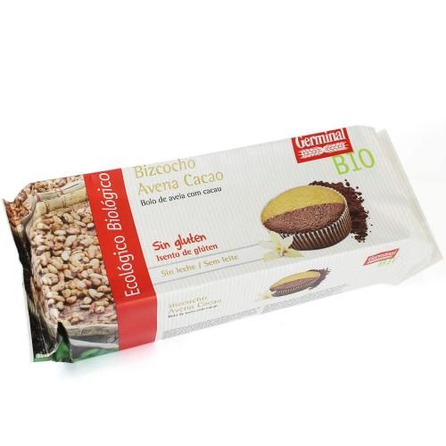 Bizcocho de Avena Cacao Sin Gluten Bio 180g