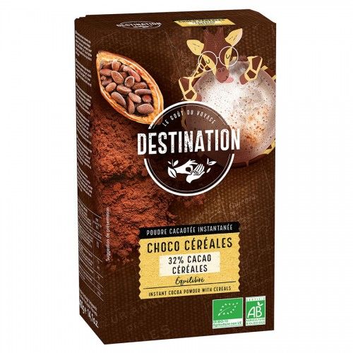Cacao en Polvo Instant Choco Original 32% Cacao Bio 400g