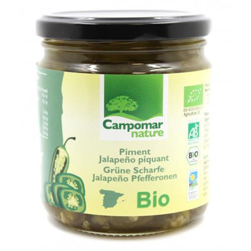 Jalapeños Picantes Campomar Bio 350g