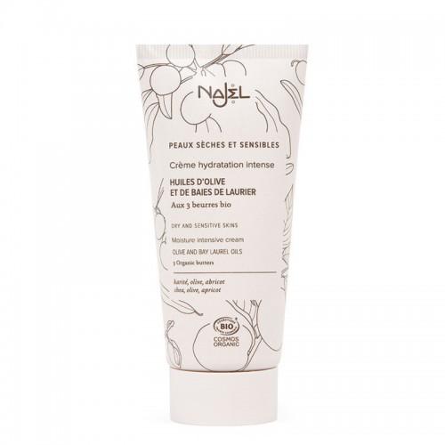 Crema Facial Hidratante Intensiva Pieles Secas y Sensibles Najel Bio 50ml