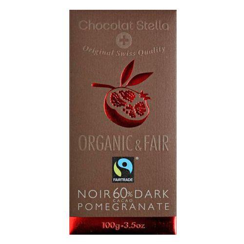 Chocolate Negro 60% con Granada Ethiquable Bio 100g