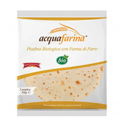 Piadina de Espelta Acquafarina Bio 300g